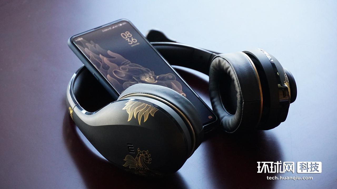 一键消音K歌必备 小米蓝牙耳机K歌故宫版体验