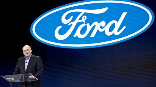 福特CEO:2018年业绩平庸 今年目标利润翻倍