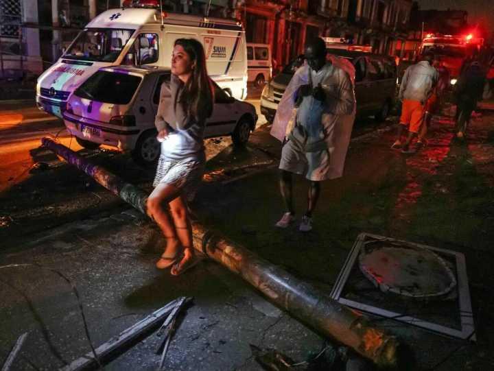 古巴首都遭龙卷风袭击 至少3死百余人伤