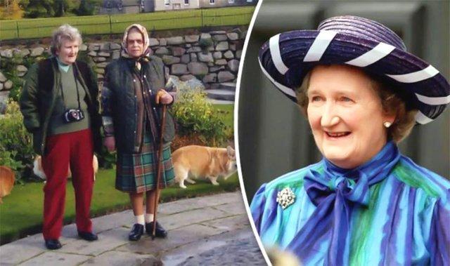 她是女王的表姐+头号闺蜜,80多年亲情和友情,好幸福!
