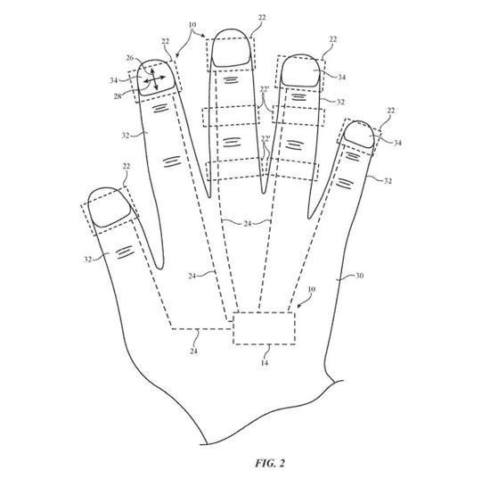 手机触屏竟成混合现实?苹果指戴式设备拿下专利
