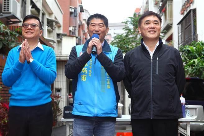 """绿营夺台北""""立委""""补选席次 郝龙斌:对国民党是警讯"""