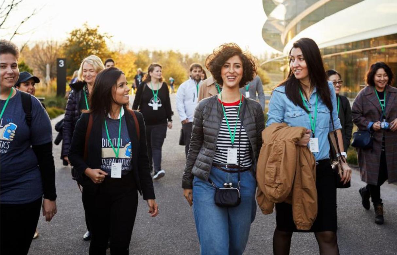 苹果女性创业营 邀请女开发者在苹果工作两周