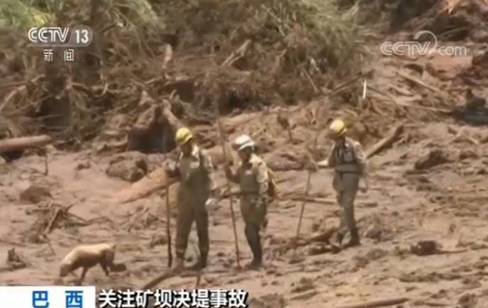 巴西矿坝决堤事故已致65人遇难 巴西副总统:将对责任人进行处罚