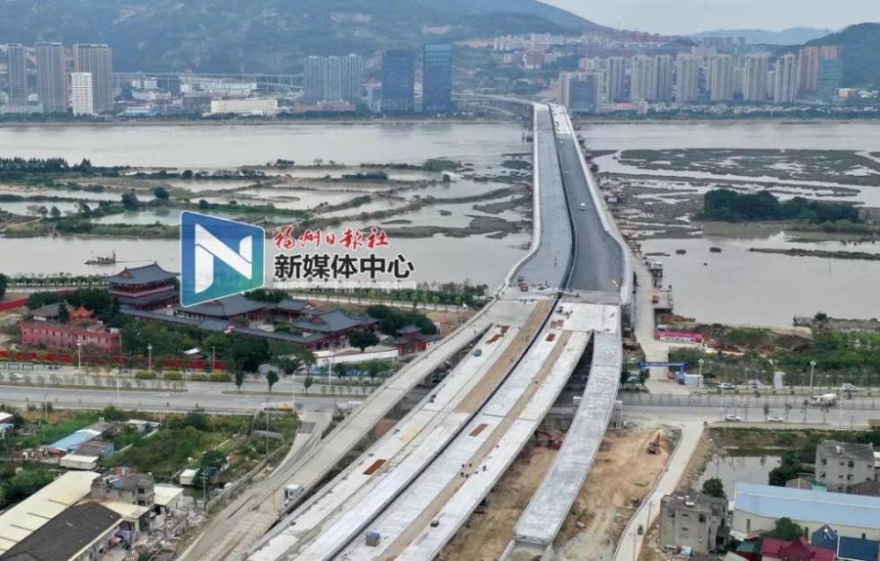 福州三江口大桥今日通车 仓山马尾往返5分钟