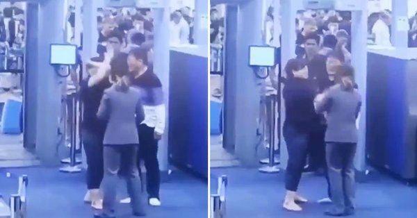 韩国女游客泰国机场动粗 被处以1000泰铢罚款