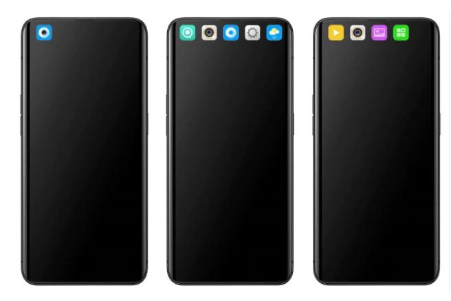 OPPO隐藏前置摄像头新方法:与App图标融为一体