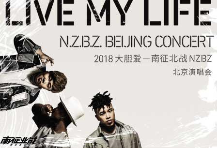 南征北战NZBZ《大胆爱》2018演唱会视频上线