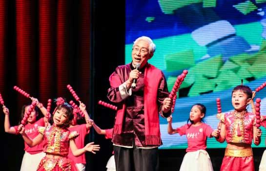 颂今中国风演唱会唱响新加坡 向狮城观众拜年
