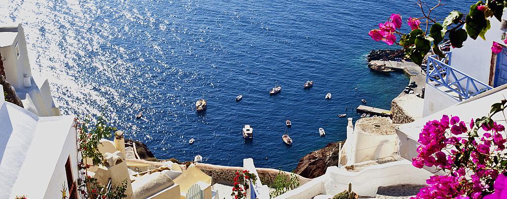 观爱琴海畔云卷云舒