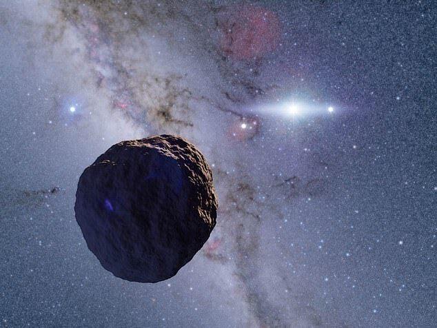 天文学家发现太阳系边缘神秘岩石 直径超2400米
