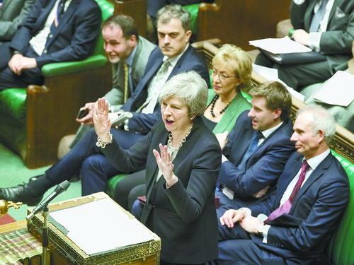 特雷莎·梅将再赴欧盟谈脱欧协议,媒体认为胜算很低