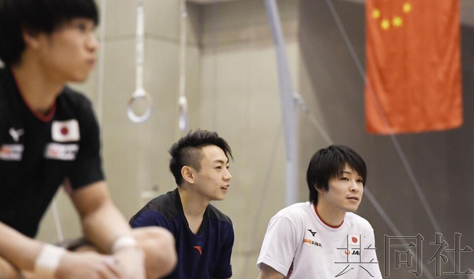 中日体操男队举行罕见联合集训,竞争对手相互切磋吸收经验