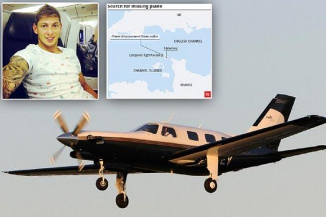 疑似阿根廷球星萨拉乘坐飞机残骸冲上法国海岸(图)