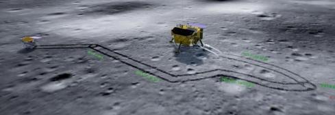 嫦娥四号着陆器和玉兔二号巡视器均完成自主唤醒