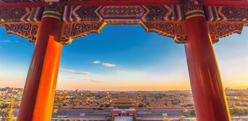 春节旅游 最美中国红
