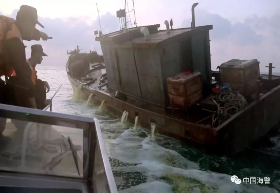 中国海警2018年查获走私案1100余起 案值约43亿元