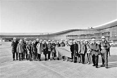北京大兴机场露真容 4月完成装修9月30日建成通航