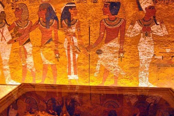 埃及图坦卡蒙墓室修复完成