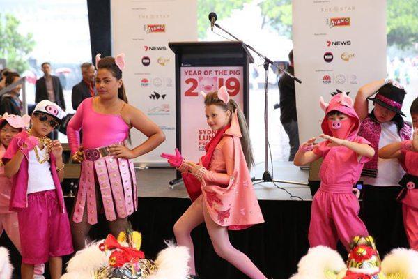 澳大利亚悉尼农历节拉开帷幕