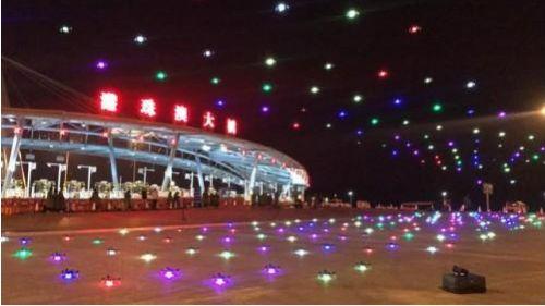 深圳组织多重警力为逾千架春晚表演用无人机护航