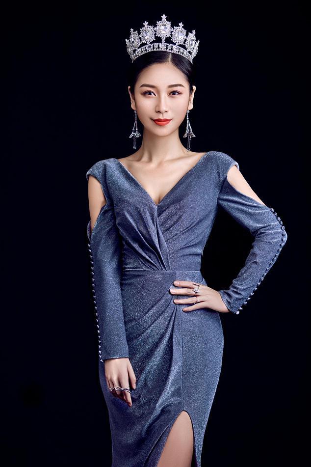 世界旅游小姐夏誉轩被封为励志女神