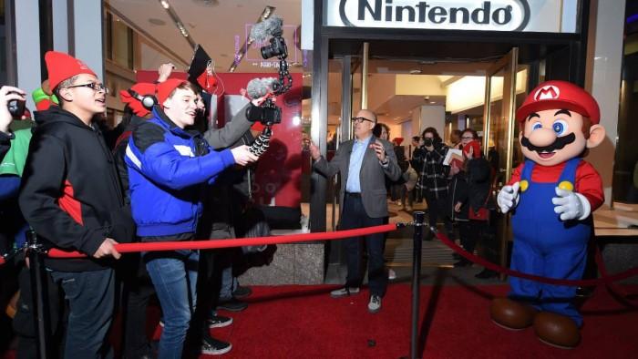 任天堂将东京开设日本首家旗舰店Nintendo Tokyo