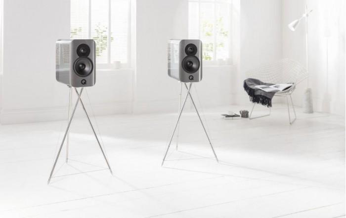 英国Q牌推Concept 300支架音箱 造型酷似外星蜘蛛