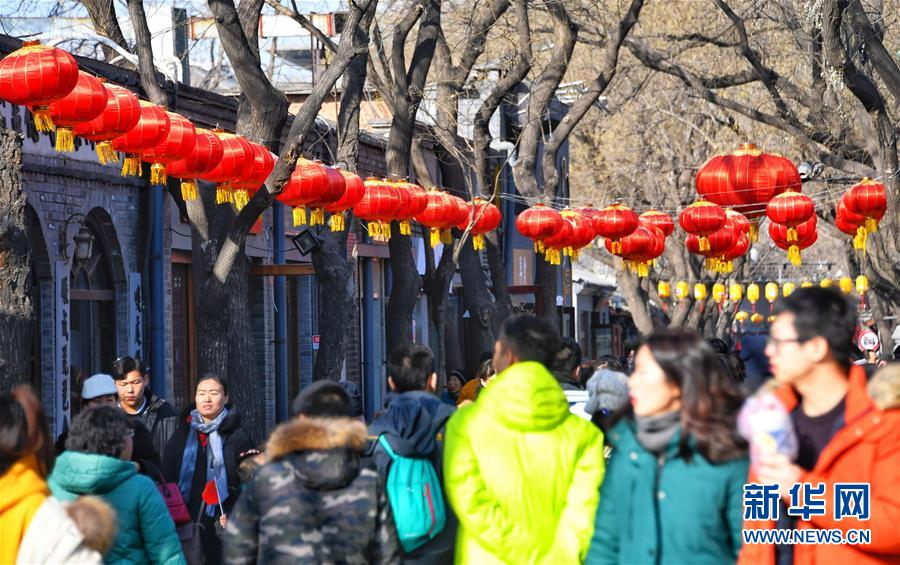 北京:大街小巷年味浓