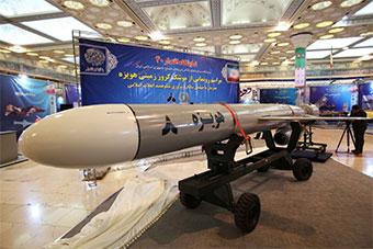 伊朗展示全新巡航导弹 射程达到1350公里