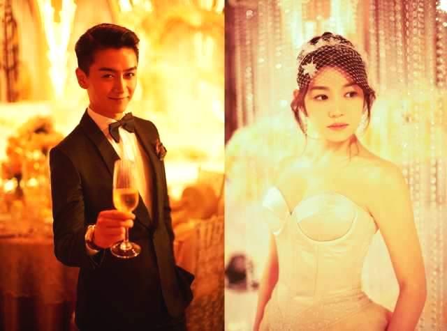 看完陈晓陈妍希的婚纱照,网友:简直了,颜值全靠陈晓在支撑!