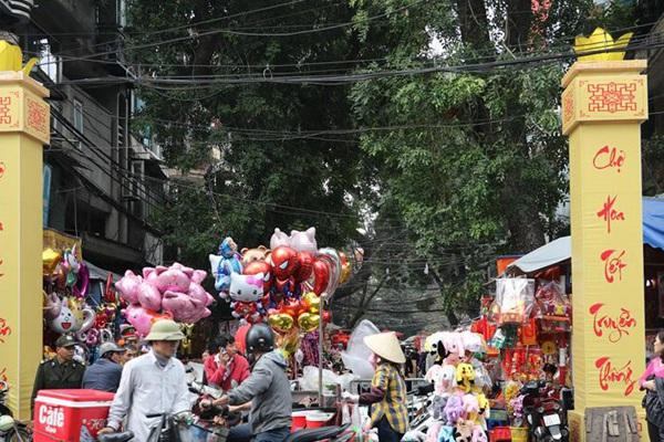 2019年新春佳节的越南河内花市