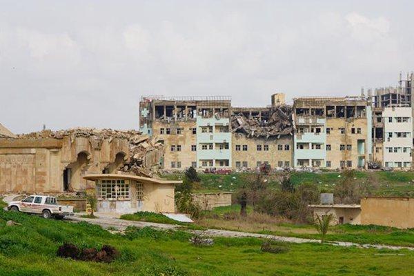 废墟中重生的摩苏尔大学