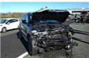 尤文大将高速遭严重车祸豪车被撞毁 所幸人未伤