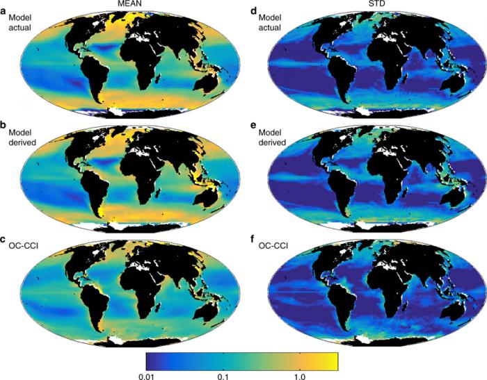 [图]全球气候变暖正让改变海洋的颜色