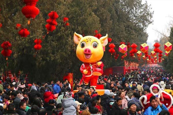 逛庙会 庆新春