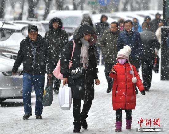 """北京农历新年伊始迎初雪 成历史""""第四晚"""""""