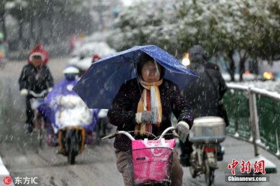 冷空气将影响江淮江南等地 西藏南部将有较强降雪