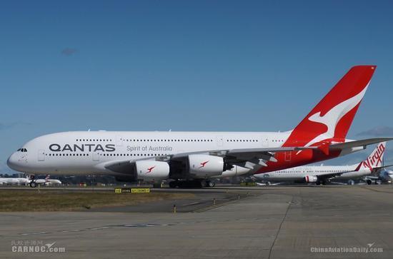澳大利亚航空宣布取消8架空中客车A380客机订单