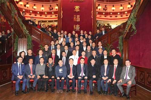 法国温州商会喜庆新春佳节