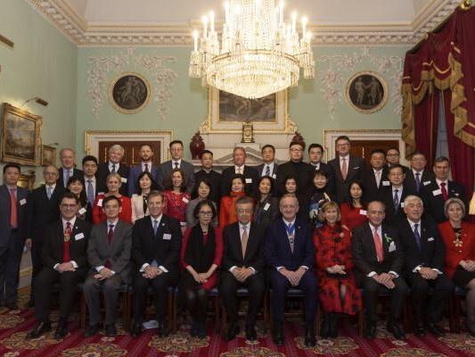 """英国中国商会与伦敦金融城联合举办 """"中英公益""""中国新年庆祝活动"""
