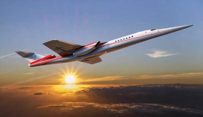 波音将世界上第一架超音速公务机推向市场