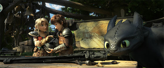 《驯龙高手3》3月1日上映 九年史诗走向终点
