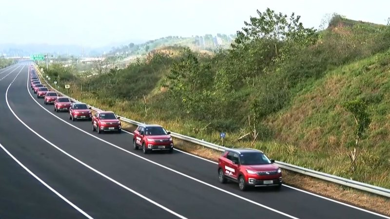 55辆自动驾驶SUV集结!长安汽车创世界纪录