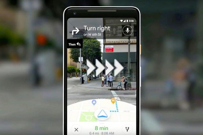 Google MapsAR导航功能初体验:在大城市不怕迷路