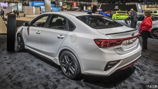 2019芝加哥车展:起亚新ForteGT