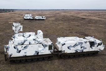 征战北极!俄最新版道尔防空系统进行实弹训练