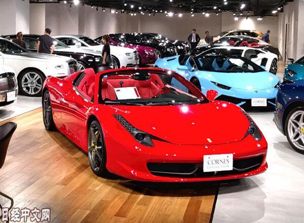 富裕阶层消费意愿加强 日本豪车销量5年增至3倍
