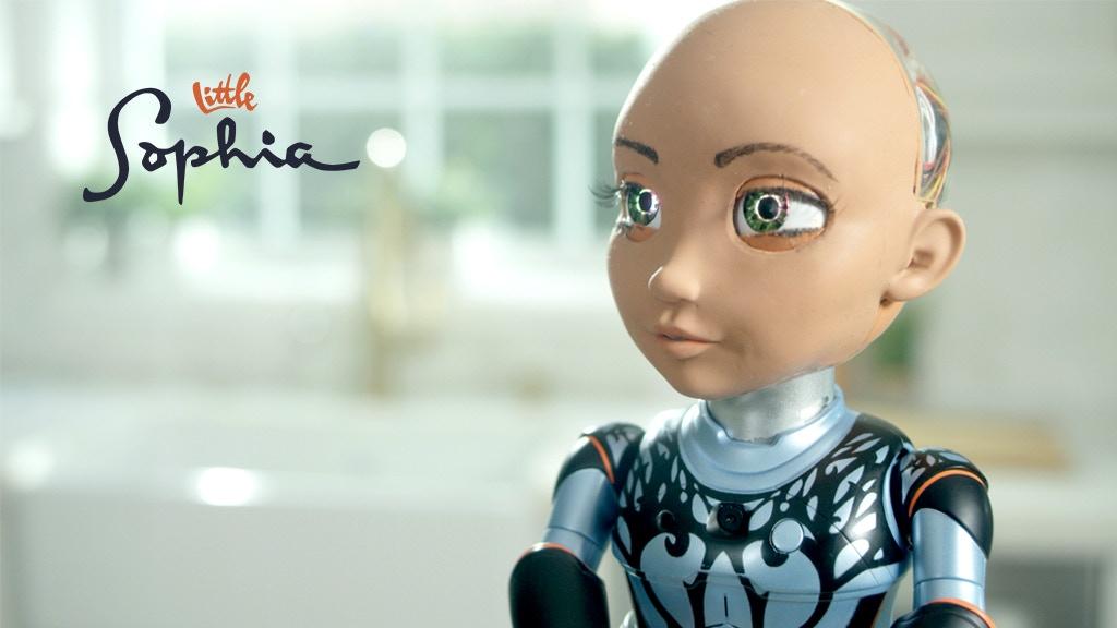 网红机器人索菲亚有妹妹了 小索菲亚达成众筹目标