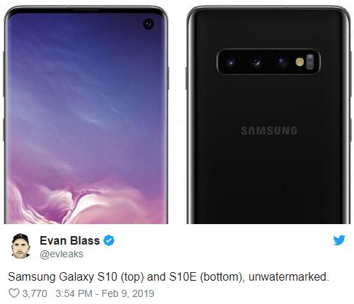 Galaxy S10高清渲染图曝光 多种配色齐聚